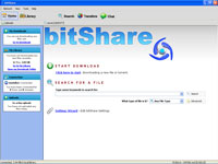 bitShare :: Home View