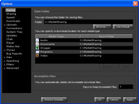 GnutellaWire :: Options View